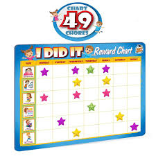 Rewards Chore Chart For Kids 49 Responsibility And Behavior Chores Ultra Thick Magnetic Board Buy Rewards Chore Chart For Kids 49 Responsibility