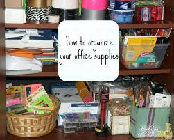 organizing your office. Organizing An Office Closet How To Organize Your Supply I