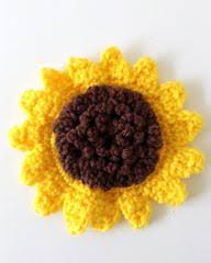 Crochet Sunflower Pattern Extraordinary Large Sunflower Free Crochet Pattern Maggie's Crochet
