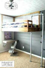 suspended loft bed hanging space optimising 2 white my hero lofts designs bunk diy rope hanging loft beds suspended bed plans