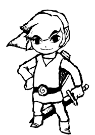 Small Picture Zelda coloring pages toon link ColoringStar