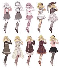 anime girl clothes designs. Contemporary Girl Cuteparade By RuinHCIdeviantartcom On DeviantArt I Would Wear All Of  These For Anime Girl Clothes Designs I