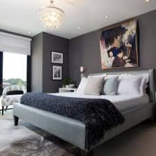 master bedroom art. Exellent Master Sophisticated Gray Master Bedroom With Colorful Abstract Art For