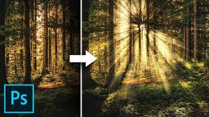 Add Light Rays In Photoshop Create Light Rays In 3 Simple Steps With Photoshop