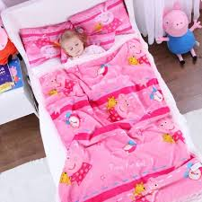 <b>Genuine Peppa Pig</b> time for bed Lamb cashmere 150cm quilt+42cm ...
