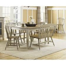upholstered dining chairs with nail heads unique e allium way dasher 7 piece removable leaf table