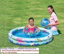 swimming pool for kids. Interesting For 2 Ring Kids U0026 Children Garden Inflatable Swimming Pool U2039 U203a In Pool For S