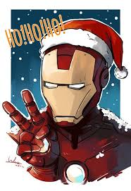 Image result for iron man christmas cartoon