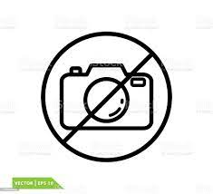 Kamera Simgesi Vektör Logo Tasarım Şablonu Yok Stok Vektör Sanatı &  Amblem'nin Daha Fazla Görseli - iStock