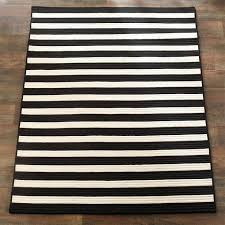 2x3 indoor outdoor rug black and white striped fresh chic stripe braided rugs shades of light