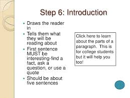 writing a research paper in easy steps 9