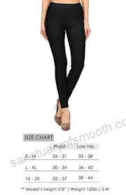 Viv Collection Size Chart Viv Collection Jeggings Jean Leggings Pants W Pockets Soft