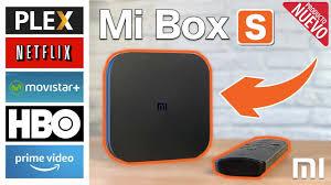 El TV BOX XIAOMI Mi BOX S - análisis del que para mi es uno de los mejores TV  BOX con Android - YouTube