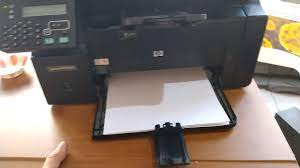 Hp LaserJet M1212nf MFP Kağıt Yolunda Sıkışma Hatası (jam in paper path) -  YouTube