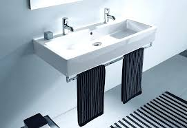 wide bathroom sink two faucets the double washbasin an extra wide china vessel sink with two wide bathroom sink two faucets