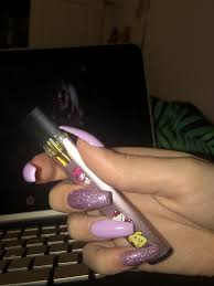 Why Is My Juul Light Purple My Wax Pen Vapepenforweed Acrylic Nails Gangster Girl