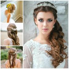 Wedding Half Updo Hairstyles For 2017 2017 Haircuts Hairstyles