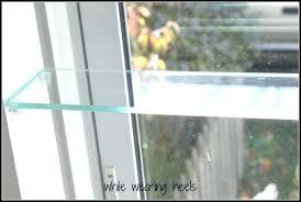 glass shelf in kitchen kitchen window plant shelf kitchen window plant shelves best ideas about window