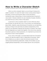 character sketch example essays document image preview page  resume hot docstoccom resume example of character sketch essay resumeexample of character sketch essay character