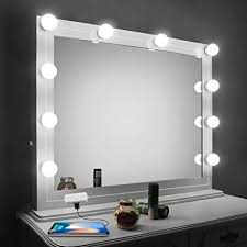 bathroom vanity mirror lights. Vansky MirrorL1 Vanity Mirror Lights Kit,LED Lights For Mirror With Dimmer  And USB Phone Bathroom R