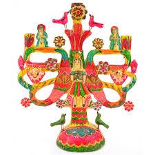 Vintage Mexican Pottery Aurelio Flores Tree Of Life | Hacienda