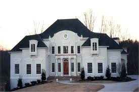 Luxury Home Design Imposing 2 Story Luxury Home Design In White With ...