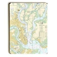 Charleston Map Print Larchlodge Co