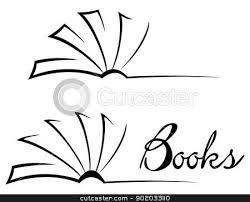 450x364 open book outline clip art 48