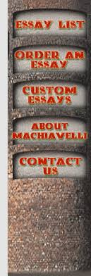 essays on machiavelli