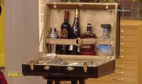DIY Bar Suitcase