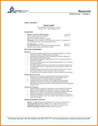 Resume Examples Skills And Abilities Sidemcicek Com