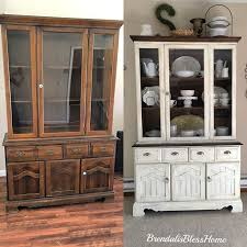 Image result for furniture repurposing ideas top of china cabinet. China  Cabinet DecorPainted ...