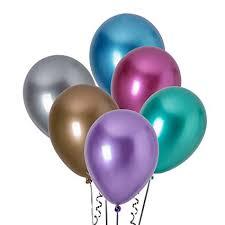 Frosttoad <b>12 Inch</b> Pearlescent Metallic <b>Latex Color</b> Balloon,(<b>50</b> Pcs