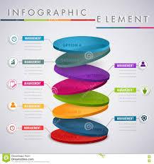 Presentation Layer Design Circle Layer Infographic Design For Presentation Business