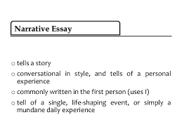 what are the different kinds of narrative essay the four major types of essays time4writing