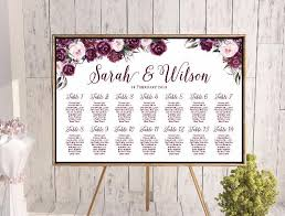 Custom Wedding Seating Chart Free Wedding Seating Charts