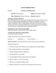 Forklift Job Description For Resume Forklift Operator Resume 24 Job Description Sample And Costco D Sevte 3