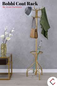 12 Hook Coat Rack Bobbi Gold Metal Free Standing 100 Hooks Coat Rack The Classy Home 71