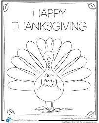 Thanksgiving Coloring Pages For Kindergarten Preschool Thanksgiving ...