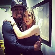 Follow us on twitter and instagram. 50 Cent Jennifer Aniston Jennifer Aniston Black Celebrity Couples Celebrities Social Media