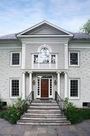 Light Grey Brick House Brick Veneer The Blueprint Blog By Mangan Group Architects