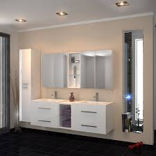 sonix 1500 wall hung double basin vanity unit white 174726