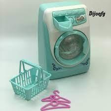 Bộ Đồ Chơi Máy Giặt Mini Có Đèn Cho Bé tại Nước ngoài