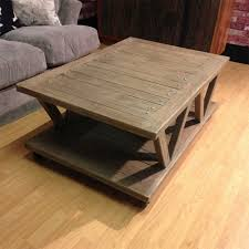 Mill Cart Coffee Table Rustic Industrial Cart Coffee Table On Wheels Unique Design