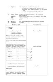 substitution linear equations math instructional unit