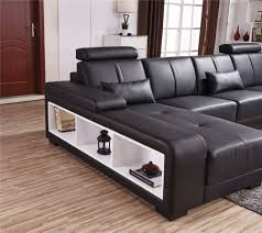 Sofa With Couch Designs Us 2800 0 Beanbag Chaise Specail Offer Sectional Sofa Design U Shape 7 Seater Lounge Couch Good Quality Cheap Price Corner Leather Sofa In Living