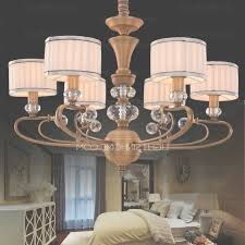 6 light fabric shade chandeliers houston with country style pertaining to houston chandeliers view 2