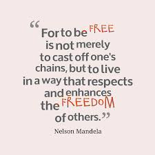 Nelson Mandela Quote About Freedom