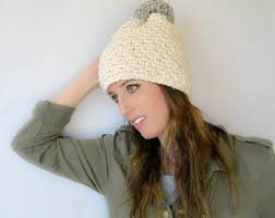 Bulky Yarn Crochet Hat Patterns Cool Ski Lodge Chunky Crochet Pom Hat Pattern Mama In A Stitch