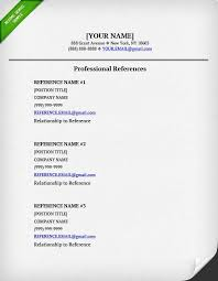 Resume Reference Format Extraordinary Cv Reference Format Unique Resume References Template